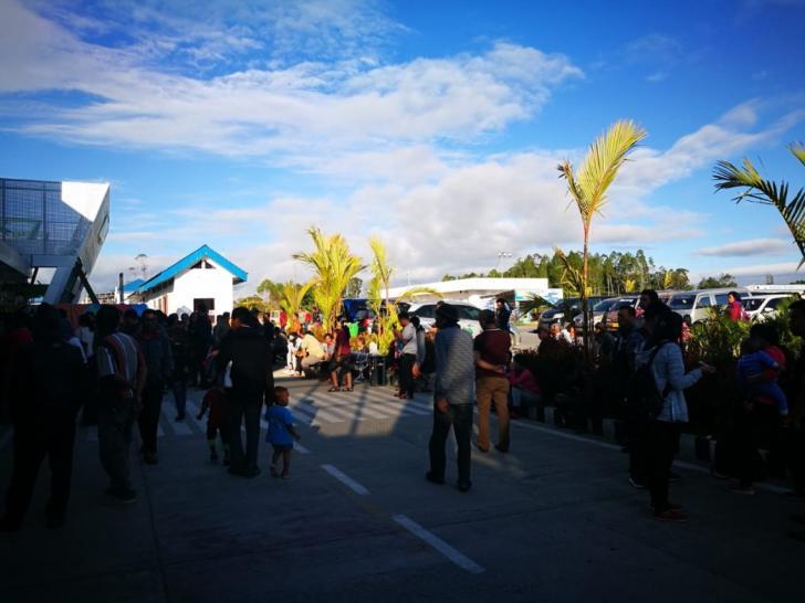 bandara Sisingamangaraja XII Silangit Siborongborong Tapanuli Utara