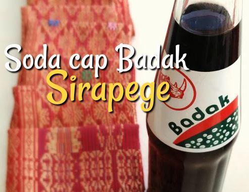 Soda cap Badak Lapo Sirapege
