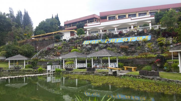 Lokasi Hotel Inna Parapat