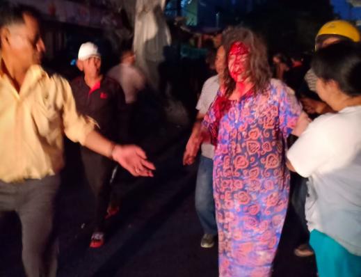 Korban Ledakan Gas di Medan