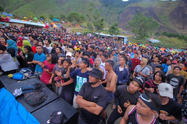 1000 Tenda Kaldera Toba Festival