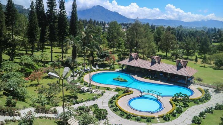 Landscape hotel grand mutiara berastagi