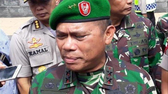 Panglima Kodam (Pangdam) XVII/Cenderawasih Mayjen TNI Yosua P Sembiring. (kompas.com/Dhias Suwandi)