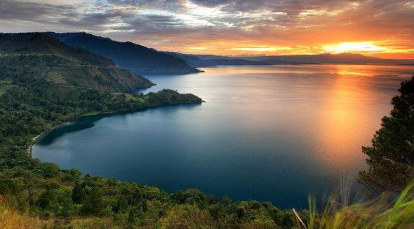 Danau Toba Sun Set