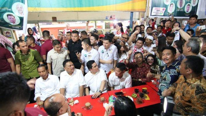 Presiden Jokowi Ngopi