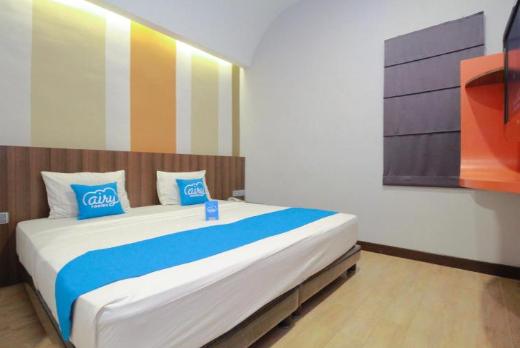 Deluxe room alpha in hotel medan