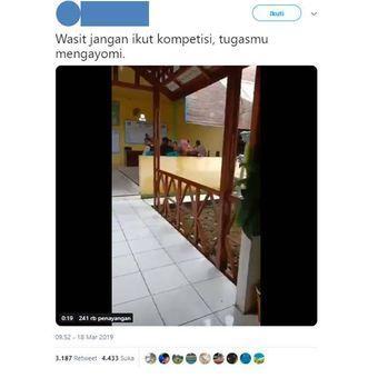 Twitter polisi jokowi