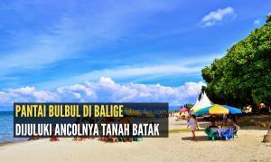 Pantai Bulbul Mendapat Julukan Sebagai Ancolnya Tanah Batak